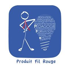 PRODUIT FIL ROUGE :   acquérir autrement des compétences en marketing  en choisissant son objet d'apprentissage et son rythme d'évaluation.